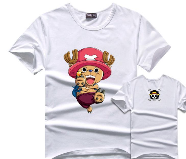 One Piece Tony Tony Chopper Men T-Shirt Cotton Anime T Shirts Onepiece Tshirt