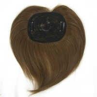 Soowee 4 kolory włosy syntetyczne czarne brązowe peruczki męskie treski do włosów Bang akcesoria prosto z wsuwki do włosów dla mężczyzn i kobiet