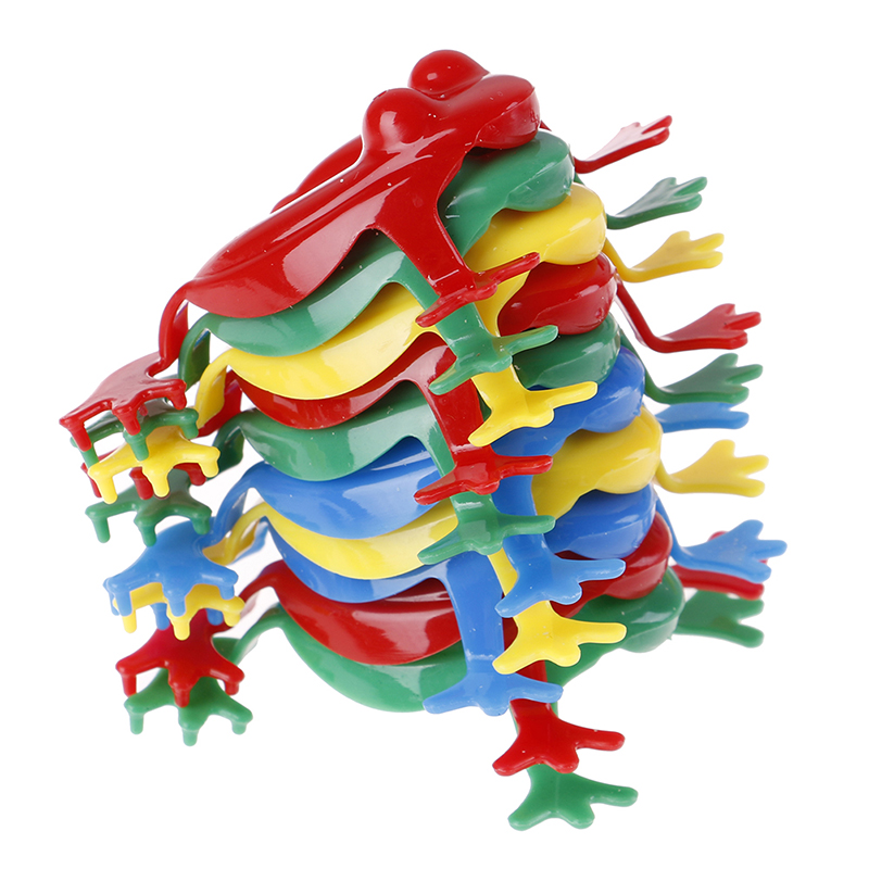 Action-Figure Animal-Toy Frogs Plastic Jumping Kids ABS for Children 10pcs/Lot