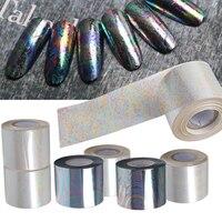 1 Vellen 120 m * 5 cm Sterrenhemel Nail Folie Papier Folie Papier Nail Art Transfer Sticker Manicure Nail Art Sticker Decoraties