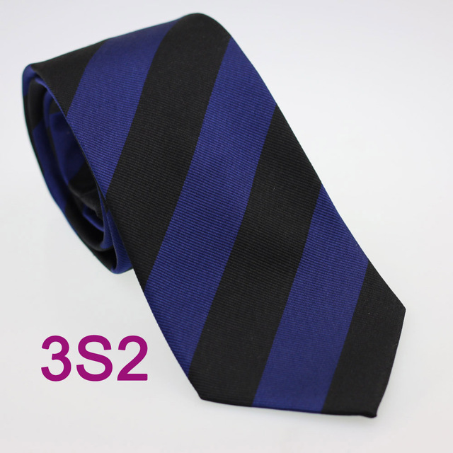 158c734d79ef Coachella Men's ties 100% Pure Silk Tie Dark Blue With Black Stripes Woven  Necktie Formal Neck Tie for Men dress shirts Wedding