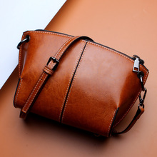 где купить Messenger Bags Shoulder Vintage Bag Ladies Crossbody bag Handbag Female Tote Leather Clutch Female Red Brown по лучшей цене