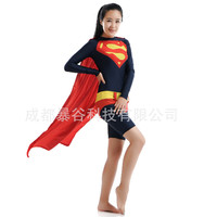 High Quality Sexy Superwoman Costume Superhero Leotard For Womens Adult Lycra Spandex Zentai Halloween Carnival Cospaly