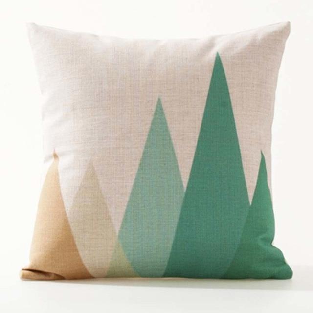 Nordic Geometric Decorative Pillowcase Size: 45CM WT0042 Color: 11