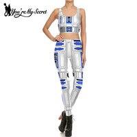 You Re My Secret One Set Of Star Wars Cosplay Costume Artoo 2 0 Printed