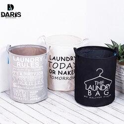 SDARISB 折りたたみコットン洗濯服折りたたみ収納バスケットバッグ防水 Instoragebarrels ランドリー洗濯物用かごトップファッション