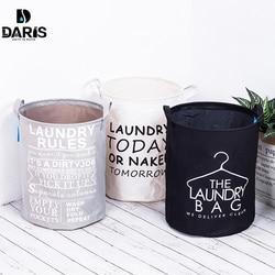 SDARISB katlanabilir pamuk çamaşır katlanır depolama sepeti çantası su geçirmez Instoragebarrels çamaşır sepeti en moda