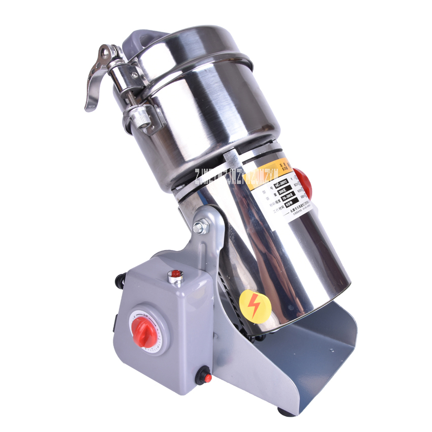 1PC Hot sell Swing Portable Grinder 300g Spice Small Food Flour Mill Grain Powder Machine Coffee Soybean Pulverizer free ship 2000g swing soybean sesame grain chili grinder food pulverizer aniseed food herb mill grinding power machine