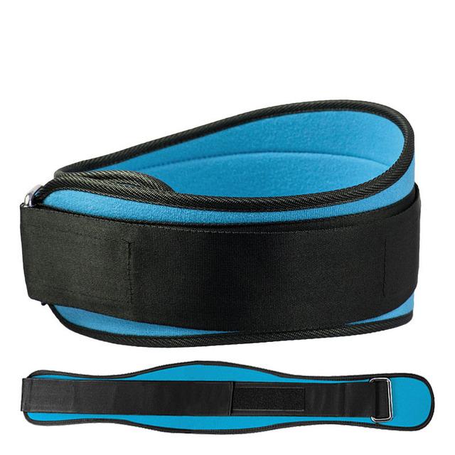 Cinturón de Levantamiento De Pesas Culturismo Gimnasio de Fitness Equipo de Entrenamiento Squat Cinturón Protector Ayuda de La Cintura Entrenamiento de Pesas Dip