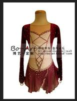 ice skating dresses custom figure skating suits for girls women competition skating dress free shipping spandex