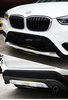 For BMW NEW X1 2016 2017 Front Rear Stainless Steel Bumper Guard Skid Plate Quality Supplier