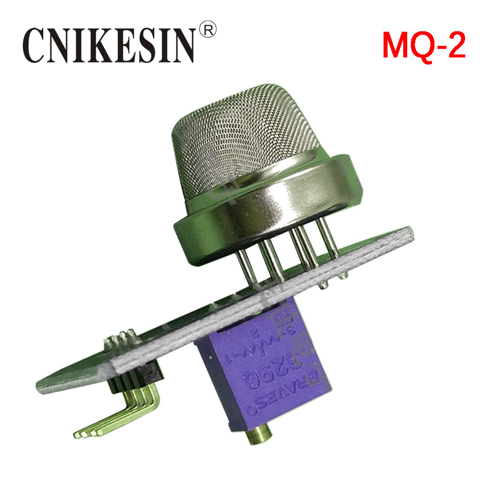 CNIKESIN MQ-2 Gas Sensor Smoke Methane Butane Detection Analog Sensor (C6B5)