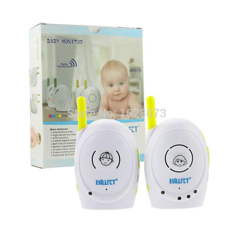 Talkie-walkie bébés 2.4 GHz Audio sans fil bébé moniteur Radio bébé téléphone bébé alarme enfants Radionana Intercoms Radio nounou infirmière - 6