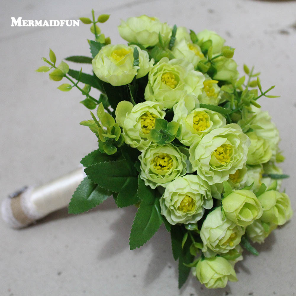 2019 Real Pictures Beautiful Artificial Flowers Wedding Bouquet Wedding Accessories Bouquet Mariage