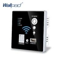 Free Shipping USB Socket Wall Embedded Wireless AP Router Wireless WIFI USB Charging Socket Panel 3G