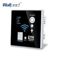 Free Shipping USB Socket Wall Embedded Wireless AP Router Wireless WIFI USB Charging Socket Panel 3G