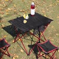 Outdoor Klaptafel Aluminium Structuur Camping Tafel Waterdichte ultralichte Duurzaam Meubels Accessoire Voor Picknick