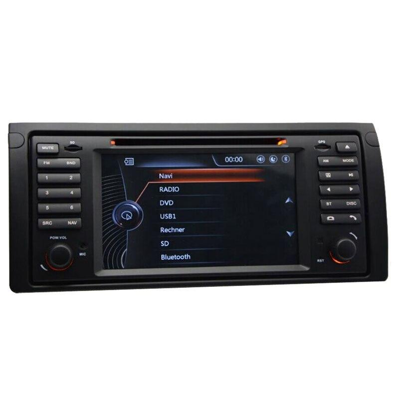 capacitive screen autoradio dvd gps stereo compatible for bmw x5 e53 e39 520i 528i 530i car