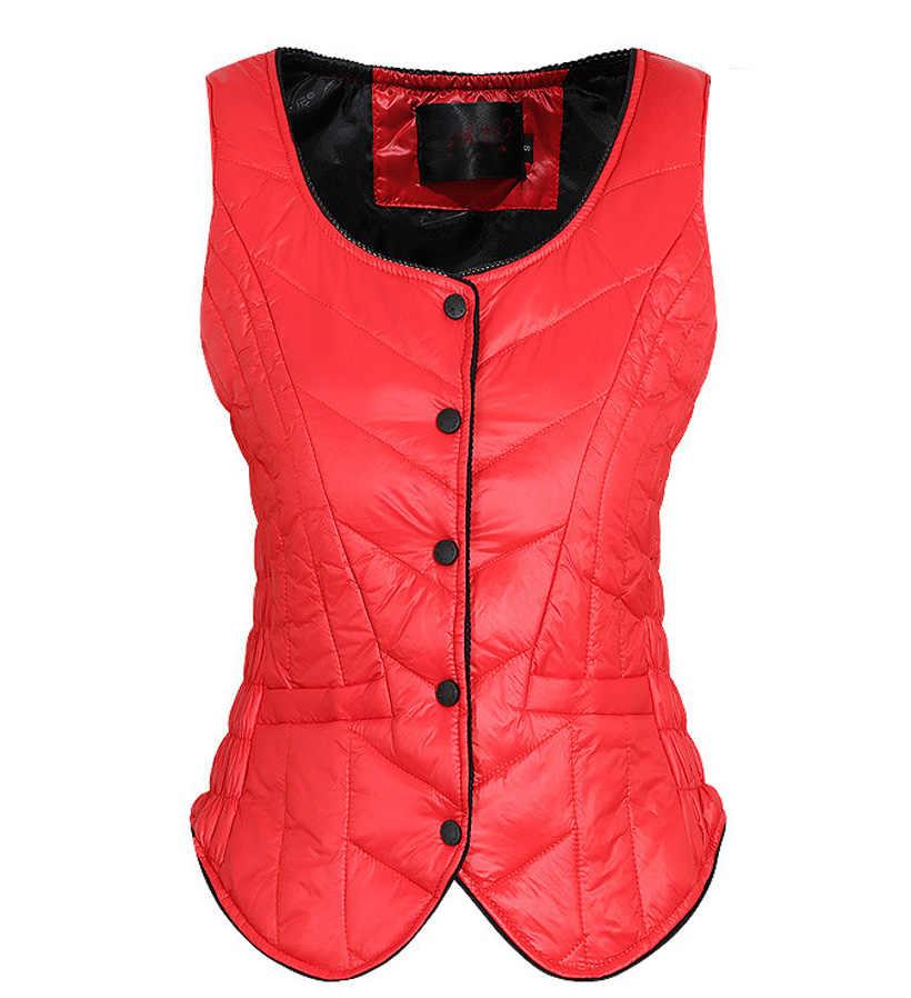 Unten Jacke Weste Frauen Kurzen Absatz selbst-anbau Warme Weste Harness Winter Marke weibliches Hemd Liner Weste