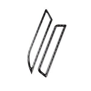Image 2 - 폭스 바겐 골프 7 MK7 2013 2014 2015 2016 2017 탄소 섬유 자동차 사이드 에어 컨디셔닝 공기 배출구 커버