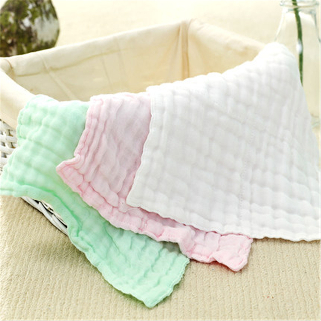 US Soft Baby Bath Towel Cotton Newborn Baby Washcloth High Quality Absorbent Soft 3 Pcs Baby Feeding Towel Cotton Cute 701316 In Towels From