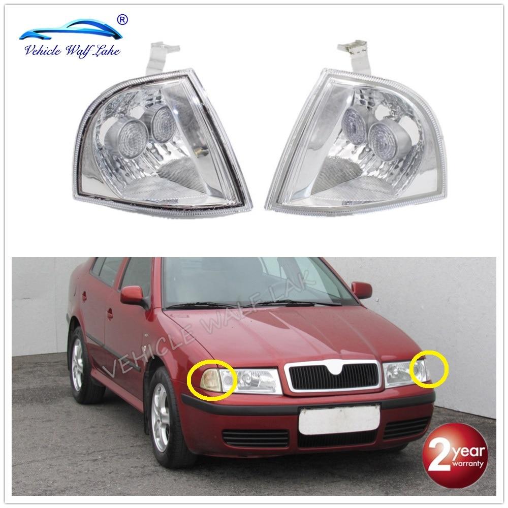 Для Octavia A4 MK1 1996 1997 1998 1999 2000 2001 2002 2003 2004 2005 2006 2007 2008 2009 передний поворотный сигнал, фонарь, угловой свет