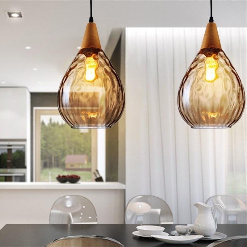 cheapest Nordic designer long shape restaurant living room model room pendant lamp glass ball metal rod pendant lights