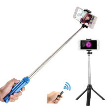 Easttowest Multifunctional Shutter Self-timer Monopod Bluetooth Selfie Stick for iphone 7 6s 5 IOS Samsung Android