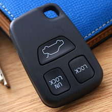 3Button Remote Key Cases Fob Cover Shell Fit For VOLVO C70 S40 V40 V70 S70 1998-2000 Auto Replacement Keyless Entry Covers