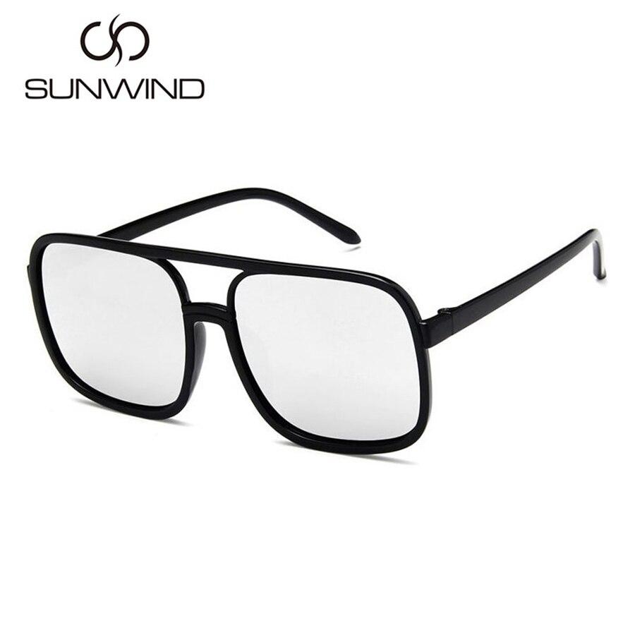 Mode Männer Frauen Sonnenbrille Square Frame Vintage Goggle Plain - Bekleidungszubehör - Foto 3