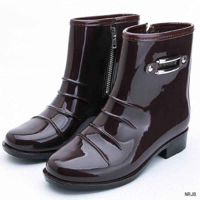 Size Chuva Impermeáveis Atraente Livre Sapatos Dos Ar slip Masculino marrom Plus preto Homens Água Moda Non 39 Balck De Bege Curtas Ao black Botas New 44 2017 OIwxrRIaq