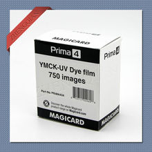 Original Magicard Prima434 YMCK-UV Color Ribbon for id card printer-750 prints