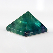 2015 Natural crystal pyramid purple fluorite point chlorophane pendant 32mm *32mm free shipping wholesale