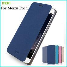 """MOFI для Meizu Pro 5 MX5 Pro 4 г LTE мобильный телефон чехол Высокое качество Флип кожаный чехол подставка для Meizu Pro5 (5.7 """")"""