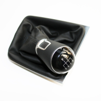 ELISHASTAR Original Gear shift Knob with PU Leather Cover For GOLF 7 MK7 5GG711113A 5GG 711 113A