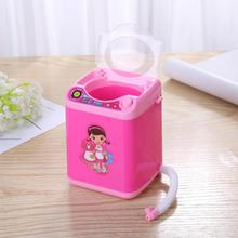 Mini Cute Makeup Brush Washing Machine Cosmetic Brushes Puff Cleaning Tools Electric Automatic Make Up Brush Cleaning Machine цена и фото