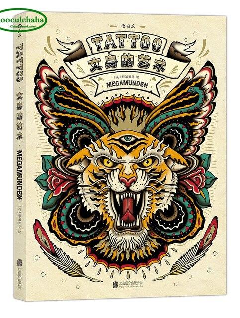 Tatuaż Sztuki Kolorowanka Dorosłych Biały Czarny Linia Rysunek