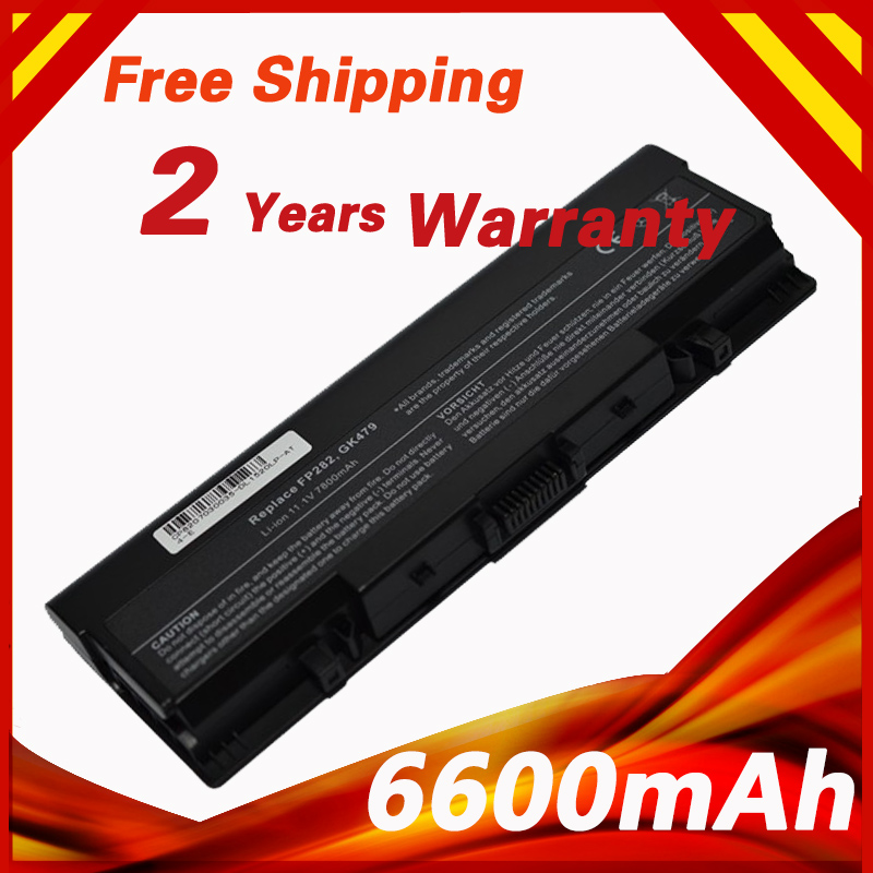 6600mAh Battery For Dell For Inspiron 1520 1521 1720 1721 530s Vostro 1500 1700 FK890 FP282 GK479 GR995 KG479 NR222 NR239 TM980