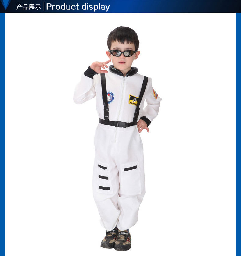 CaGiPlay Kids Halloween Costumes For boy Girls, spaceman Costume Dress, Girl Anime Cosplay Clothing, Disfraces Carnaval