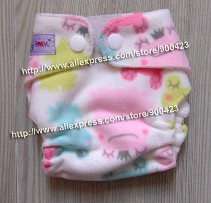 Моющиеся Новорожденные ткань пеленки 1 шт. ткань пеленки+ 1 шт. вставки - Цвет: frog F