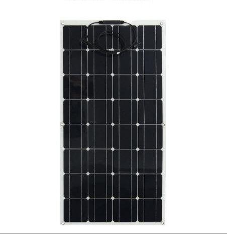 セミフレキシブルな曲げ 100 ワット 100 ワット軽量ソーラーパネルに 12 v バッテリー中国製景陽  グループ上の 家電製品 からの 太陽電池 の中 1