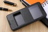 Case For HTC 816 New Luxury Double Window View Stand Flip Case Cover For HTC Desire