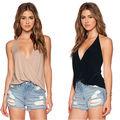 Сексуальные Женщины Лето Повседневная Рубашка Без Рукавов Спинки Свободные Жилет Майка Блузка