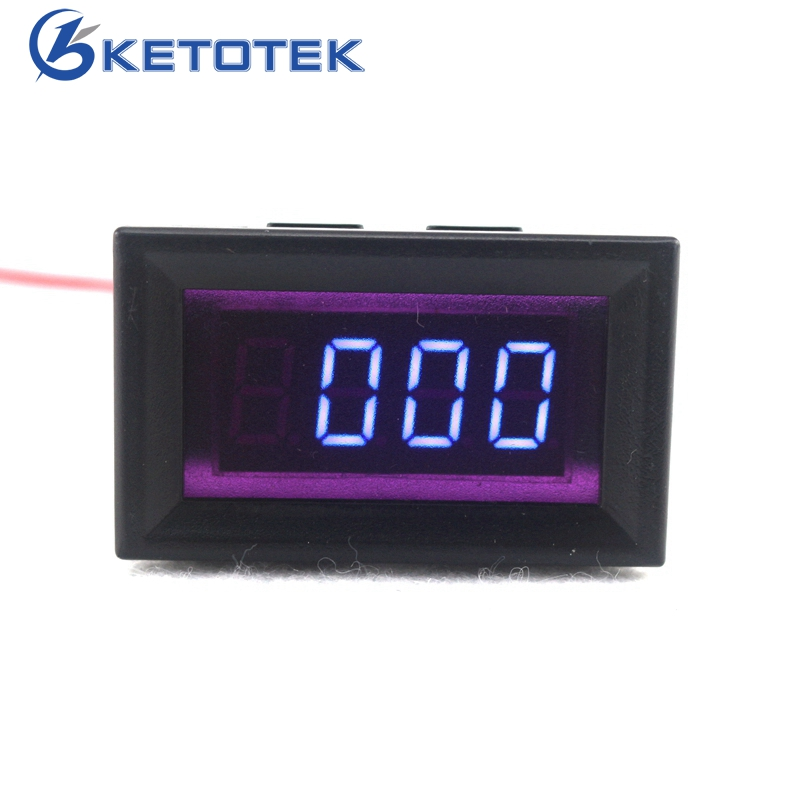 Car Digital Tachometer Tacho Gauge Red/Blue/Green LED Car Motor Auto Speed Meter