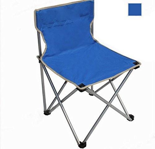 Youdirect Tm Blue Large Size Portable Folding Armless