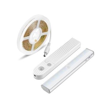 AIMENGTE 6LED10LED Portable LED Under Cabinet Light lamp Energy Saving Kitchen Bedroom Wardrobe Motion Sensor LED Cabinet Strip Under-cabinet lighting