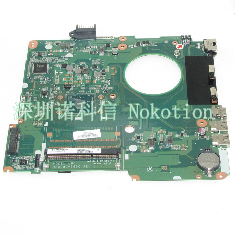 NOKOTION DA0U8CMB6B0 828168-601 828168-601 Laptop motherboard For hp pavilion 15-F SR29H N3050