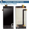 New Original Quality For Fly FLY FS452 Nimbus 2 FS452 LCD Display+Touch Screen Digitizer Assembly