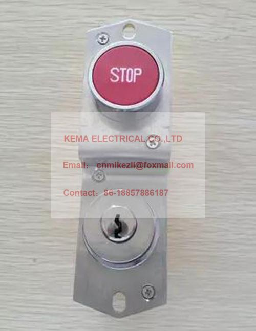 US $60 0 |Thyssen escalator emergency stop key switch /Thyssen elevator 823  emergency switch lock-in Elevator Parts from Electronic Components &