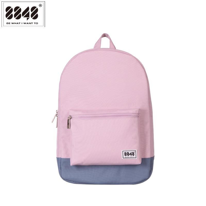 8848 Brand Backpack Ysgol Bagiau Bag i Fyfyrwyr Myfyrwyr Diddos Deunydd Rhydychen Polyester Travel Backpacking 102-054-015